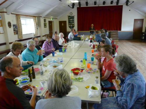 Big Lunch picnic, Drimpton village hall