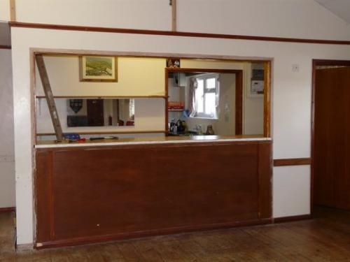 The old servery bar