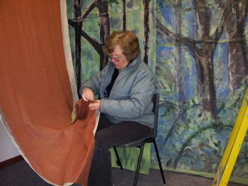 Stitching the forest floor
