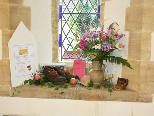 Village Walks display