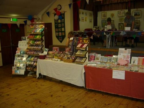 Even more stalls selling local products