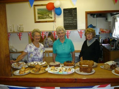 Great work by the tea & cake ladies