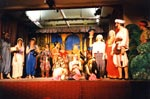 Page 138. The opening scene of Ali Baba, our first panto.